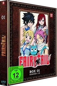 Fairy Tail - TV-Serie - Box 01 (Episoden 1-24)