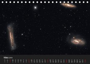 Atemberaubender Weltraum (Tischkalender 2019 DIN A5 quer)