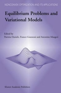 Equilibrium Problems and Variational Models