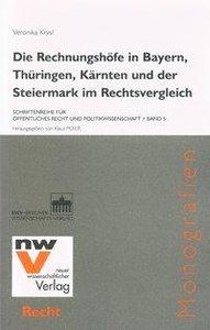 Die Rechnungshöfe in Bayern, Thüringen, Kärnten und der Steierma