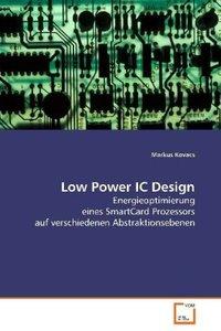 Low Power IC Design