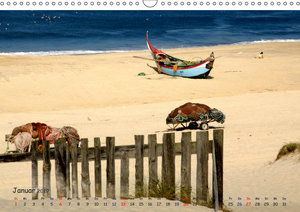 Ihr Traumstrand in Portugal (Wandkalender 2019 DIN A3 quer)