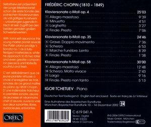Klaviersonaten op.4/35/58
