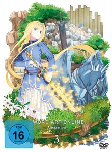 Sword Art Online - Alicization. Staffel.3.3, 2 DVD