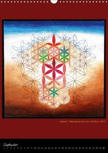Die heilige Blume des Lebens - Mandalas von Istvan Seidel (Wandk