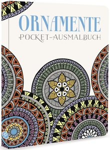 Ornamente - Pocket-Ausmalbuch