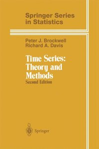 Time Series: Theory and Methods