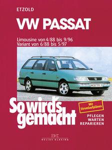 So wird's gemacht. VW Passat. Limousine von 4/88 bis 9/96. Varia