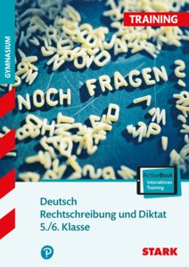Rechtschreibung und Diktat 5. / 6. Klasse mit Audio-CD
