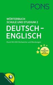 PONS Wörterbuch für Schule und Studium 2