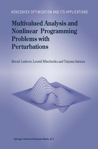 Multivalued Analysis and Nonlinear Programming Problems with Per