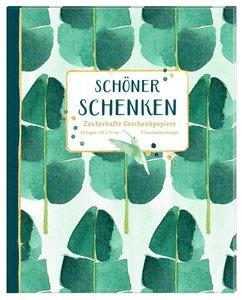 Geschenkpapier-Buch - Schöner schenken (All about green)