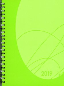 Wochentimer Flexi Colourlux grün 2019