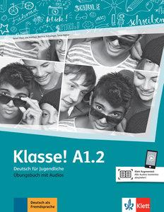 Klasse! A1.2. Übungsbuch mit Audios online