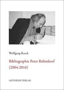 Bibliographie Peter Rühmkorf