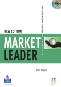 Market Leader Pre-Intermediate Practice File with Audio CD Pack