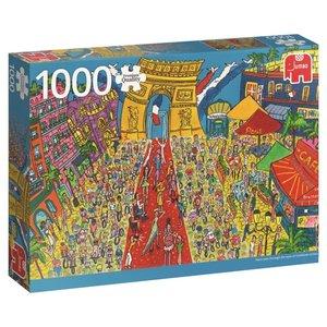 Arc de Triomphe, Paris - 1000 Teile Puzzle