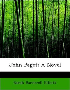 John Paget; A Novel