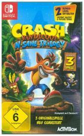 Crash Bandicoot - N. Sane-Trilogie (Nintendo Switch) - zum Schließen ins Bild klicken