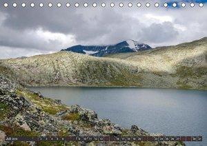 Norwegen, Oppland (Tischkalender 2018 DIN A5 quer)