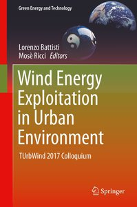 Wind Energy Exploitation in Urban Environment