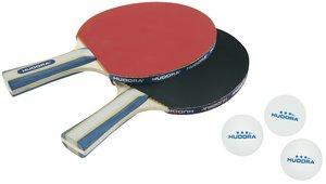 HUDORA 76245 - Tischtennis-Set New Contest 2.0 (2 Tischtennis-Sc