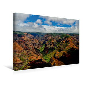 Premium Textil-Leinwand 45 cm x 30 cm quer Waimea Canyon