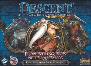 Asmodee FFGD1327 - Descent 2. Edition: Prophezeiung eines neuen