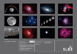 Himmlische Objekte (Posterbuch DIN A2 quer)