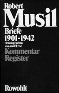 Briefe 1901 - 1942 II. Kommentar, Register