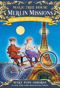 Magic Tree House 35. Night of the New Magicians