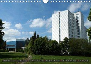 Architektur-Charme der DDR (Erfurt) (Wandkalender 2019 DIN A4 qu