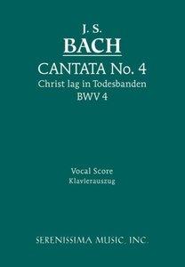 Cantata No. 4: Christ Lag in Todesbanden, Bwv 4 - Vocal Score