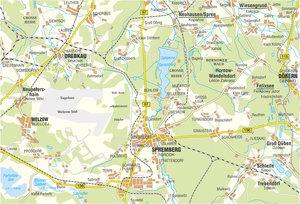 Spremberg und Umgebung 1 : 50 000