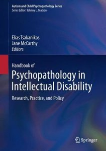 Handbook of Psychopathology in Intellectual Disability