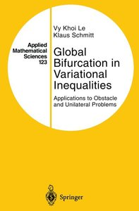 Global Bifurcation in Variational Inequalities