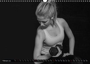 LIFESTYLE Fitness Kalender (Wandkalender 2020 DIN A3 quer)