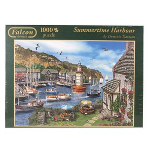 Falcon - Summertime Harbour - 1000 Teile