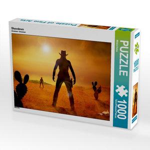 Showdown 1000 Teile Puzzle quer