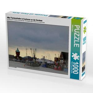 CALVENDO Puzzle Alter Fischereihafen in Cuxhaven an der Nordsee