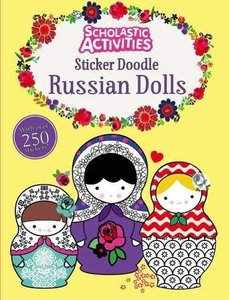Scholastic Activities: Sticker Doodle Russian Dolls