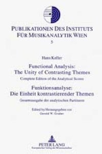 Functional Analysis: The Unity of Contrasting Themes. Funktions