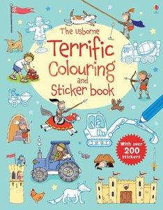 The Usborne Terrific Colouring and Sticker book