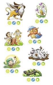 tiptoi® CREATE Sticker Im magischen Wald