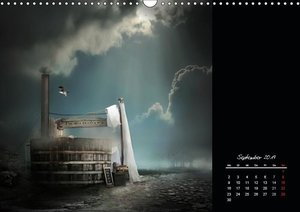 Unterwegs im Reich der Fantasie (Wandkalender 2019 DIN A3 quer)