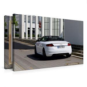 Premium Textil-Leinwand 75 cm x 50 cm quer TT Roadster 8S Farbe