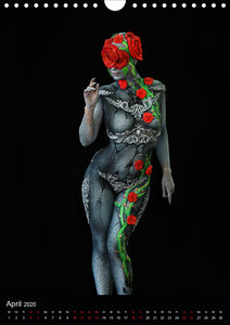 World Bodypainting Festival #21 (Wandkalender 2020 DIN A4 hoch)
