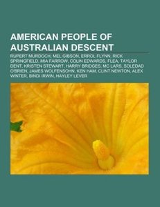 American people of Australian descent