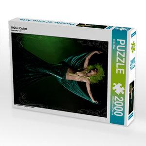 Grüner Zauber 2000 Teile Puzzle hoch