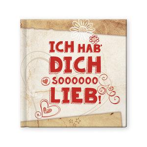 "Geschenkbuch ""Ich hab' dich soooooo lieb!"""